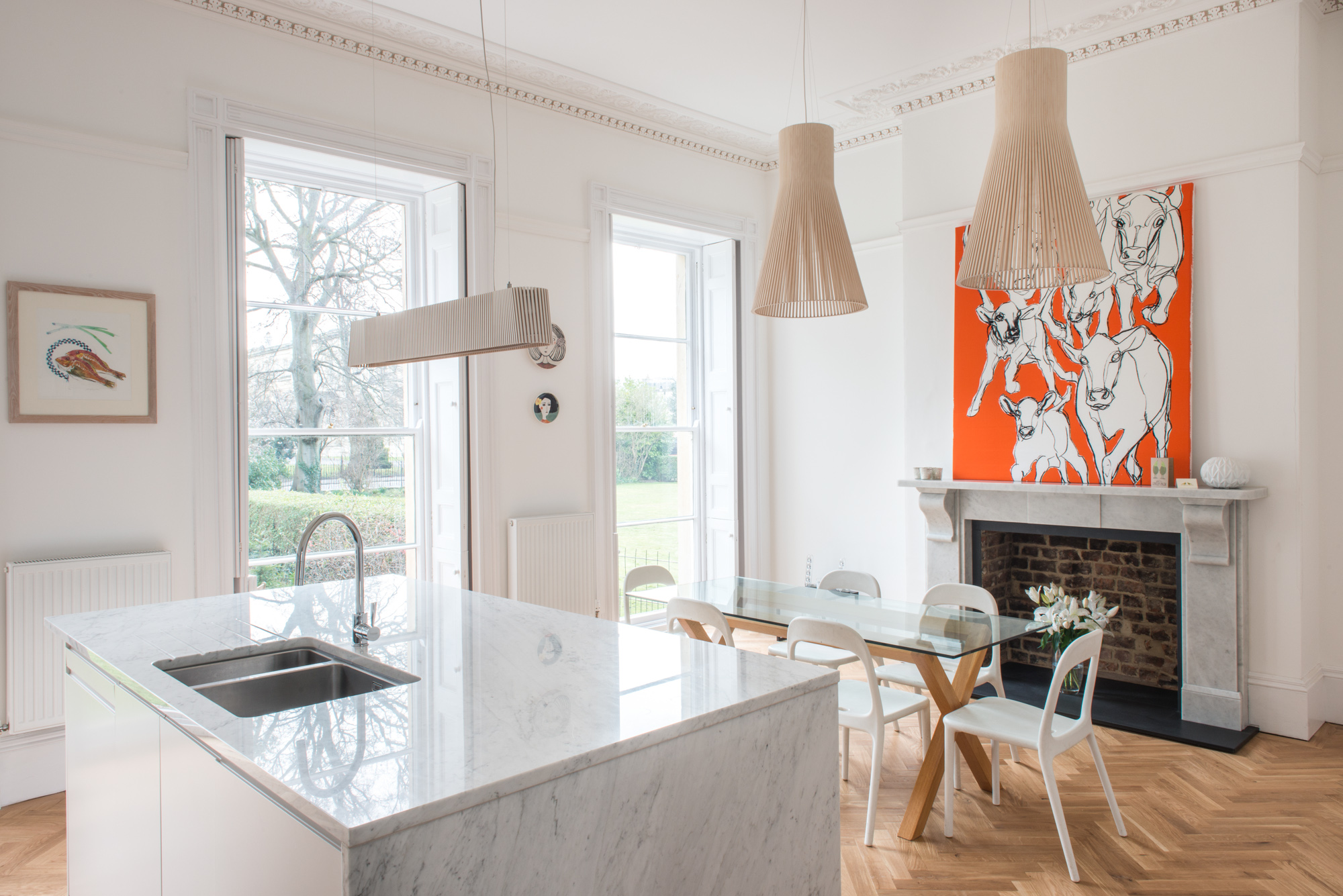listed house refurbishment - Buchanan Partnership Architects Architectural & Interior photography by Richard stonehouse architectural photographer.
