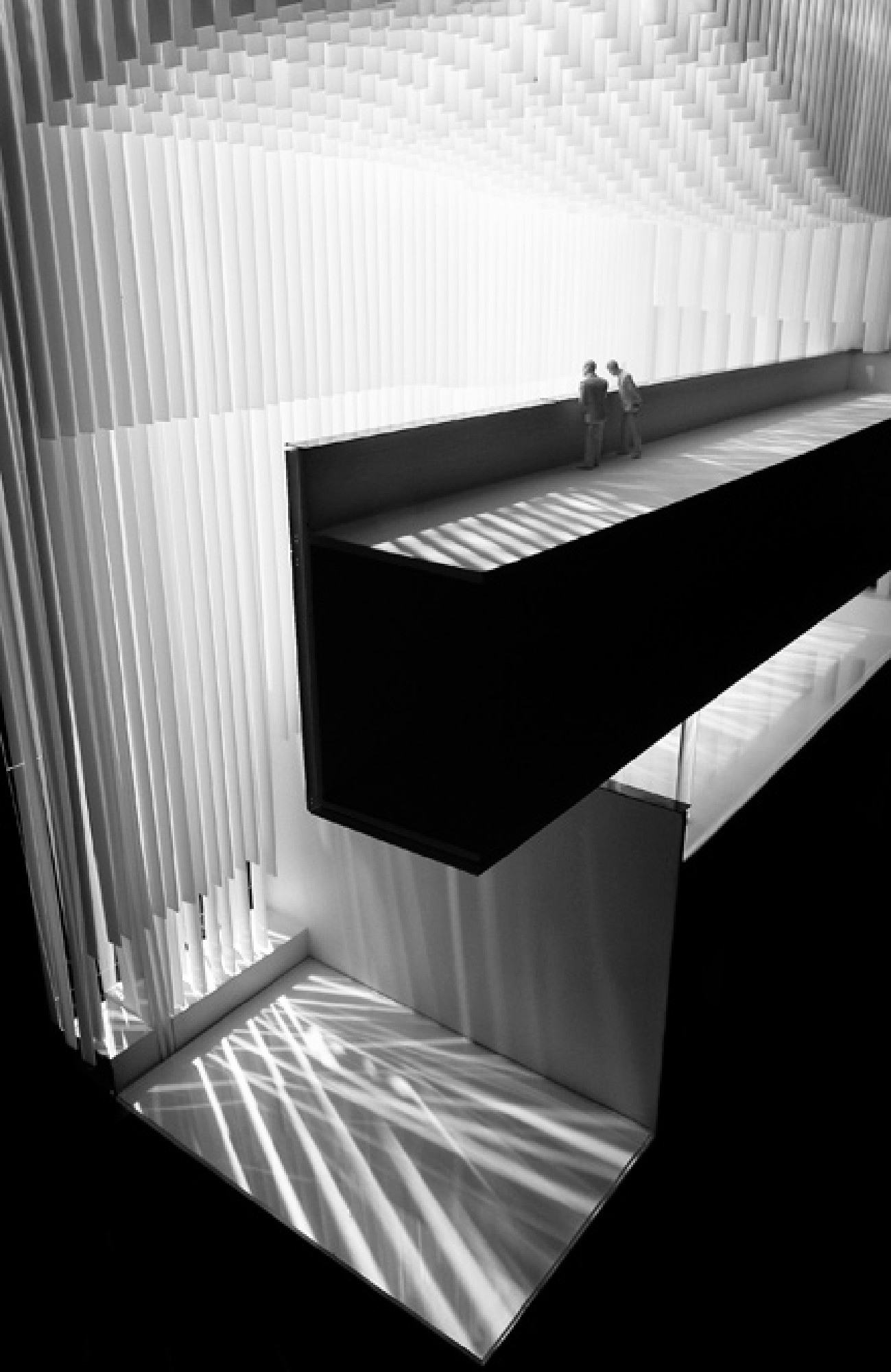 Architectural model photography by architectural Photographer Richard Stonehouse.