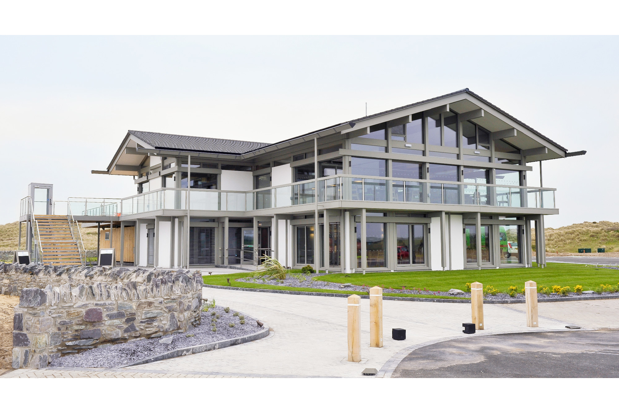 The Oyster Catcher restaurant in Anglesey with architectural photographs by Richard stonehouse ,architectural photographer.