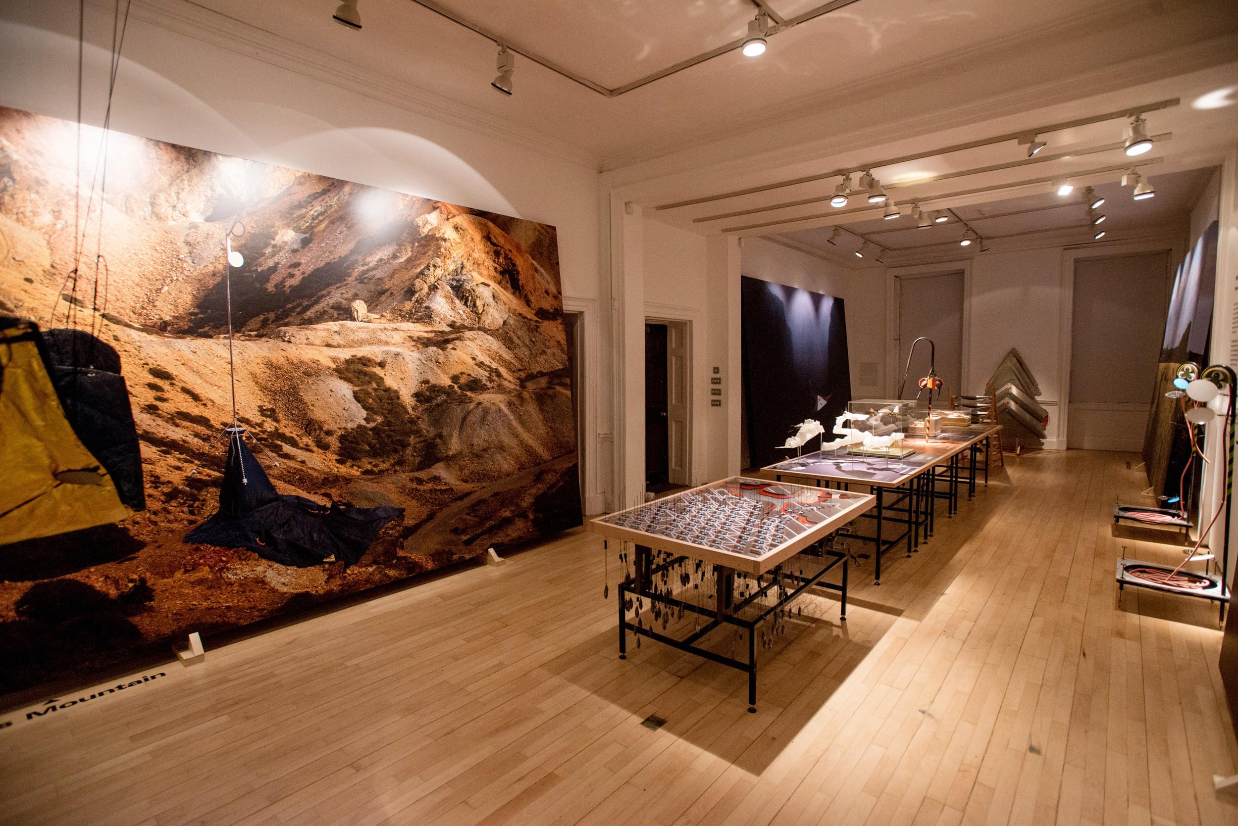 Architectural Exhibition - British Exploratory Land Survey - Smout Allen & Geoff Manaugh