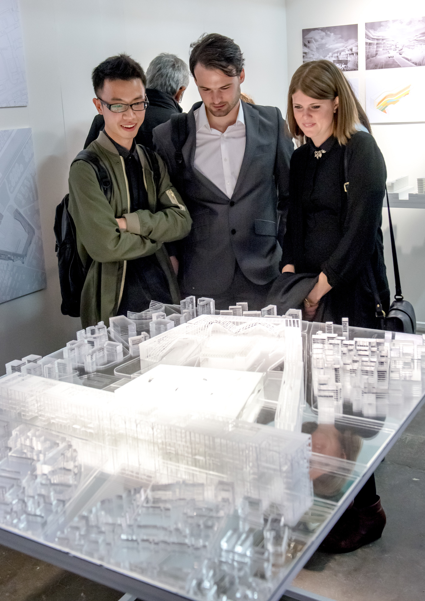 2015 B-Pro Exhibition. Bartlett School of Architecture, UCL, 140,Hampstead Road, London.Photographs by Richard Stonehouse. Architectural and interior photography