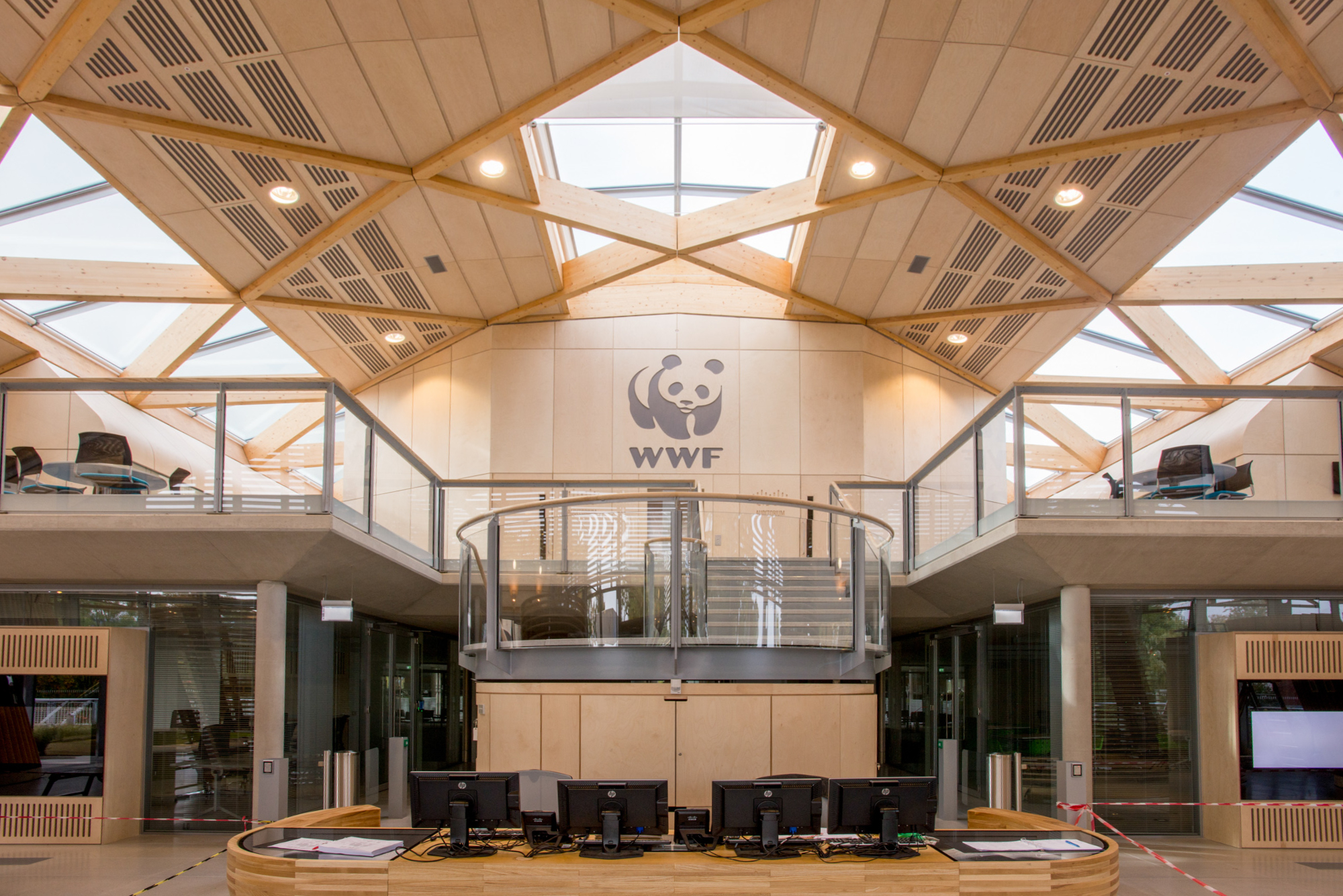 The new UK headquarters building of WWF-UK, the Living Planet Ce