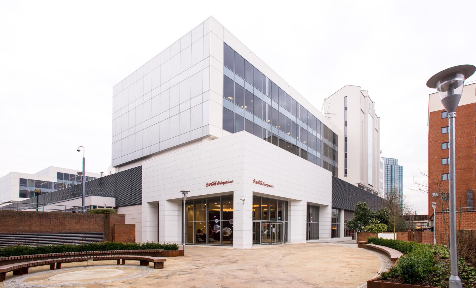Coca Cola Enterprises UK and european headquaters in Uxbridge.