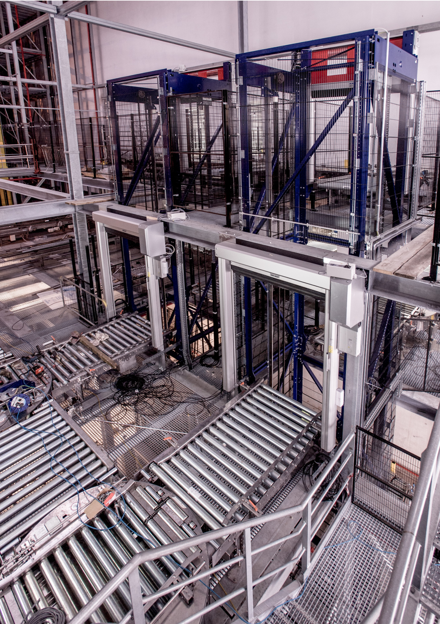 New £30million automated warehousing system during final stages