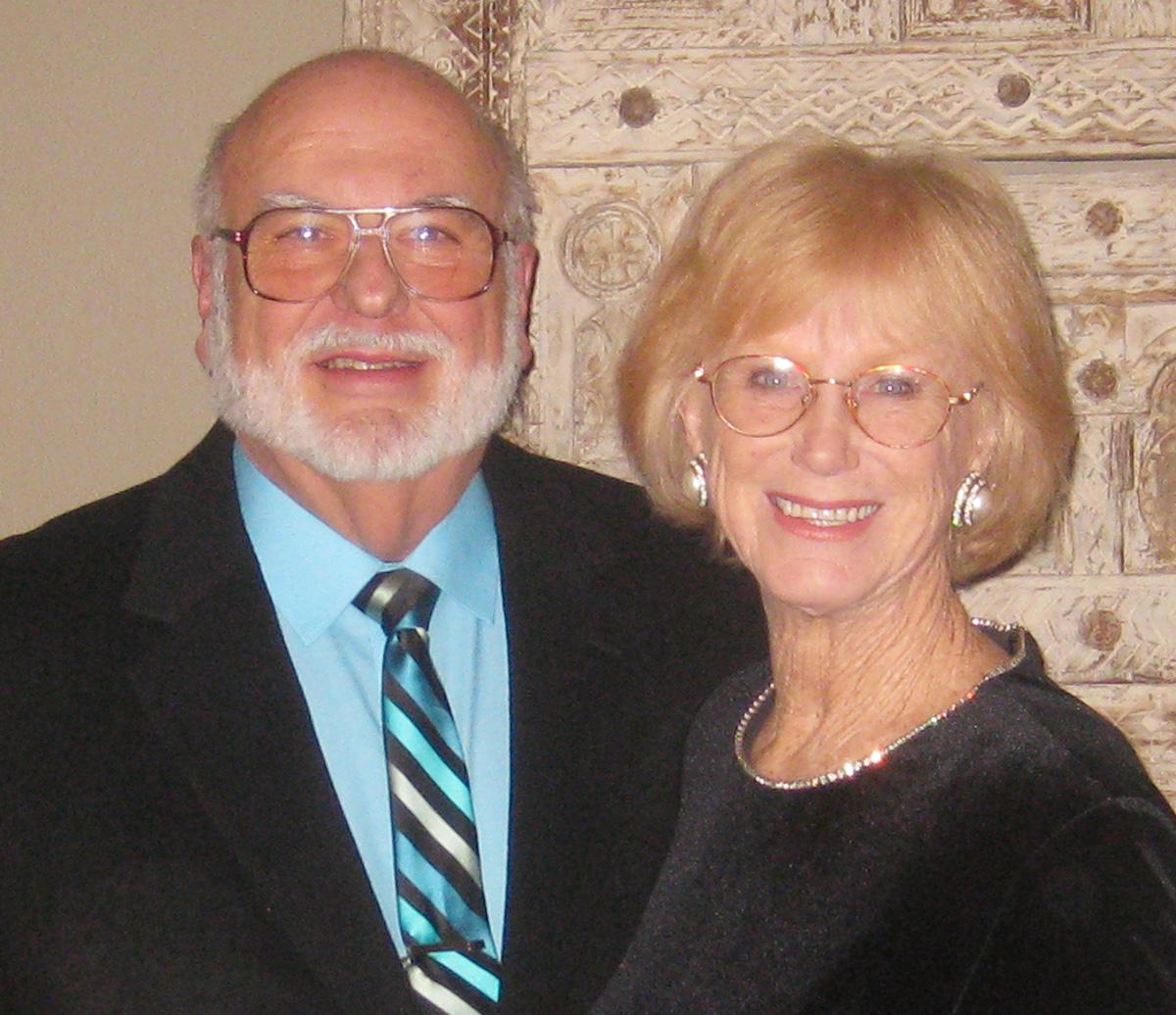 Robin Montz with Wife Barbara Sanchez