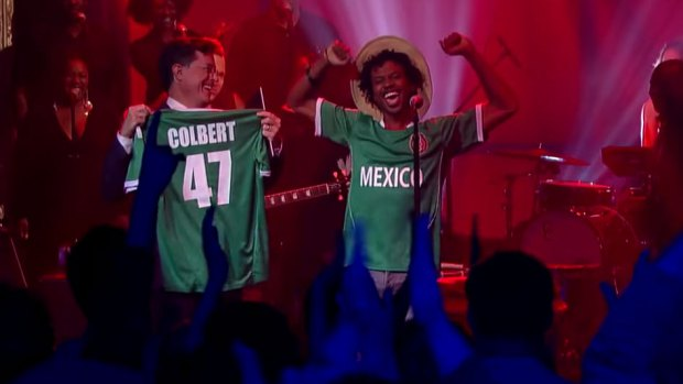 Raury on The Colbert Show 9/22/2015
