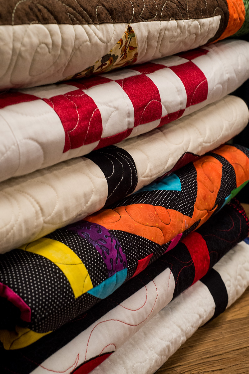 Quilt Stack. Original Twelve Stitches Work