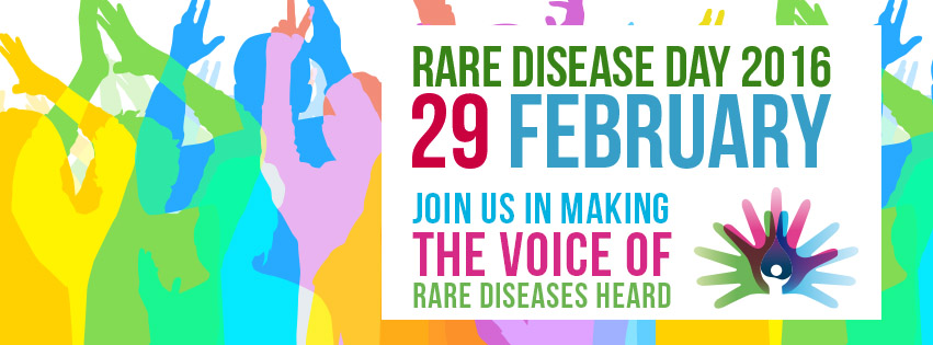 Rare Disease Day 2016, 29 February: Join Us in Making the Voice of Rare Diseases Heard