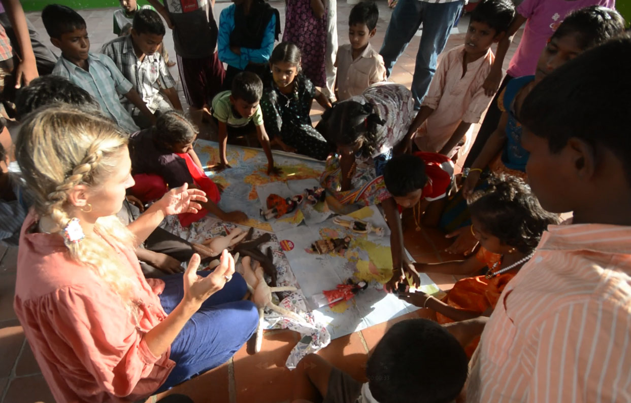 Workshops in Tiruvannamalai, India.