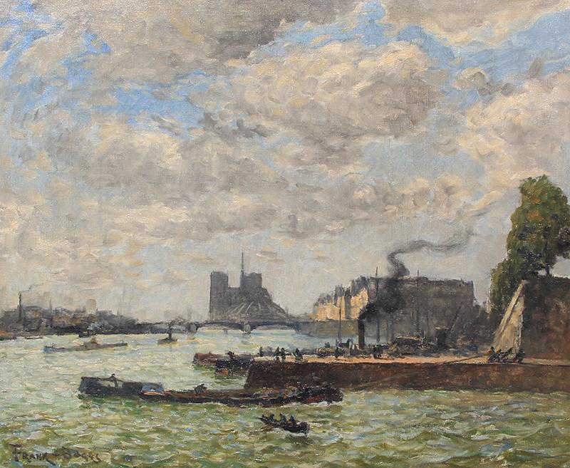 Frank Myers Boggs | Le Quai Henri IV et Notre Dame