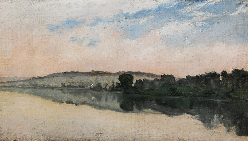 Richard Parkes Bonington | Bords de la Seine