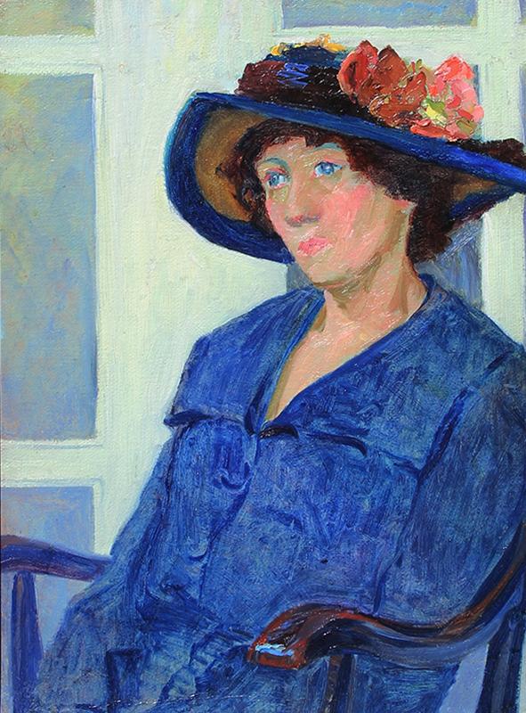 Louise Eleanor Zaring | A Lady in Blue