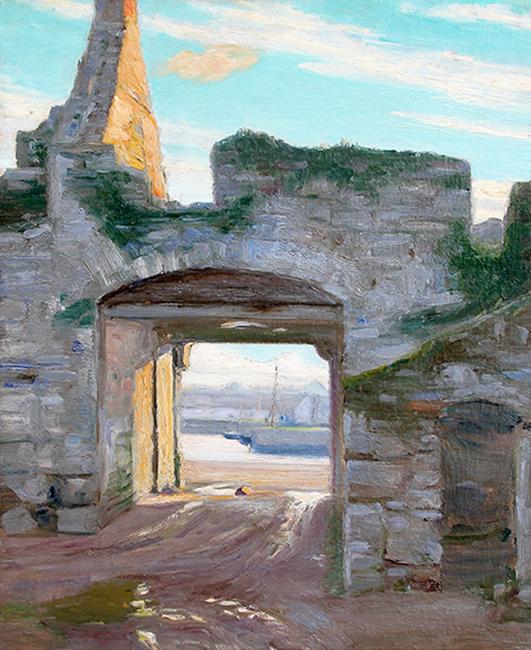 Michael Augustin Power O'Malley | Gateway in Achill Island, County Mayo, Ireland
