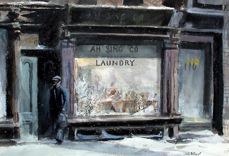 John Whorf | Ah Sing Company Laundry