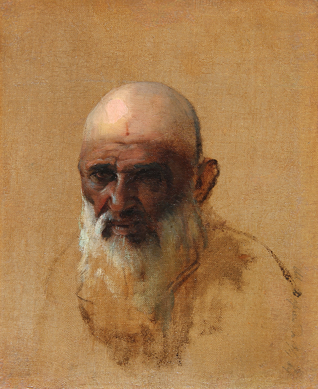 Vasily Vasilievich Vereshchagin | Portrait of a Bearded Man