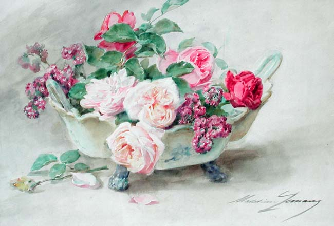 Madeleine Lemaire | A Bouquet of Roses