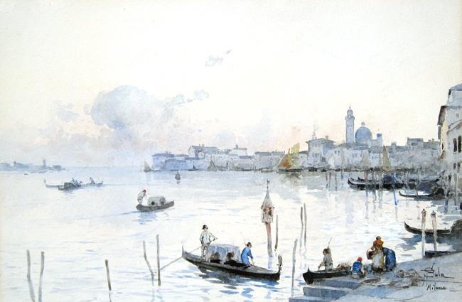 Paolo Sala   Venetian Gondoliers