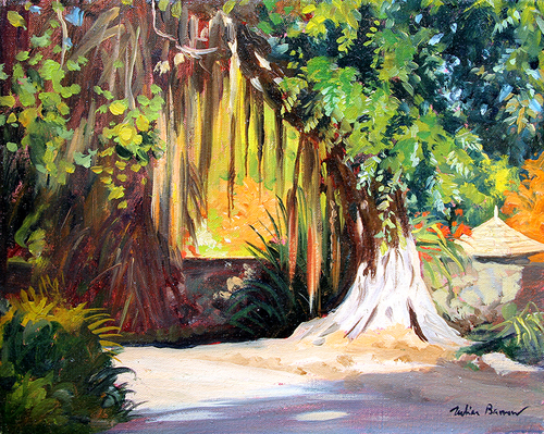 View in Bali   Oil on canvas 8 x 10 inches (20.3 x 25.5 cm) $3,600 Click here for more information