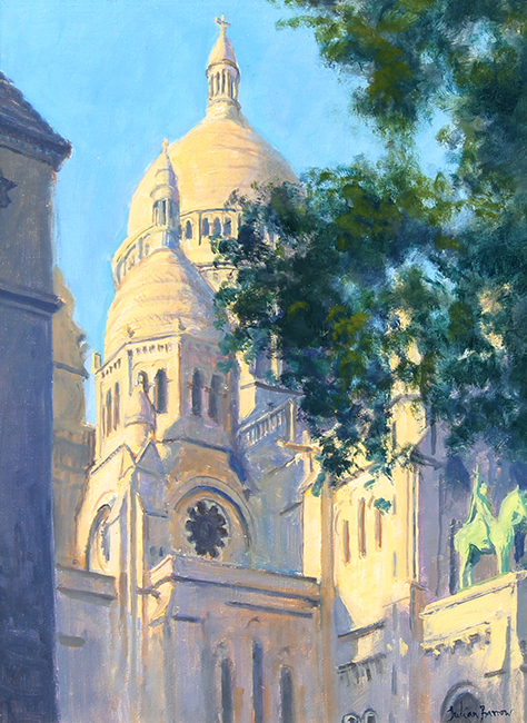 Sacre Coeur, Paris   Oil on canvas 16 x 12 inches (40.5 x 30.5 cm) $6,200 Click here for more information