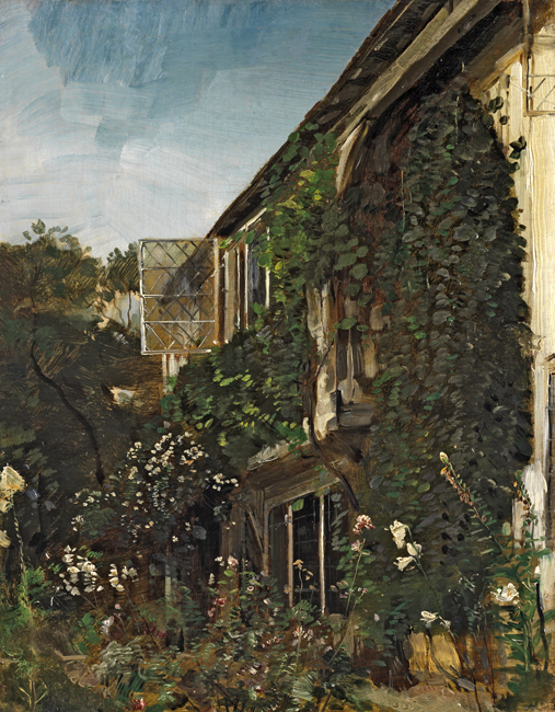 HENRY MARK ANTHONY    A Summer Garden   Oil on canvas 18 x 14 inches (45.7 x 35.5 cm) $14,000 Click here for more information