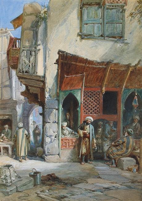 William Simpson | Barber's Shop - Suez