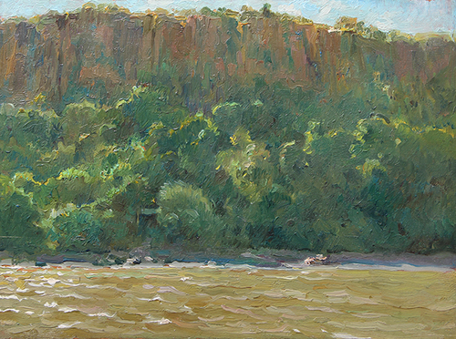 FRANCIS LUIS MORA    Palisades   Oil on panel 11½ x 16 inches (29 x 40.8 cm) $7,500 Click here for more information