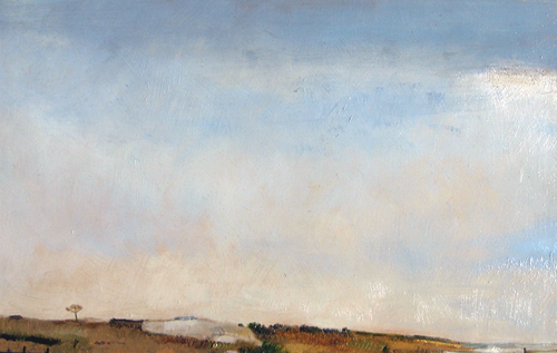 PAMELA SZTYBEL    Little Compton, Rhode Island   Oil on panel 8 x 12½ inches (20 x 32 cm) $3,000 Click here for more information