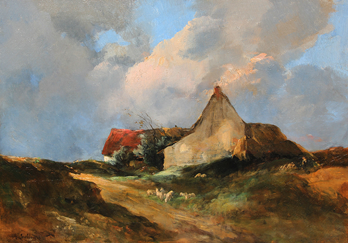 ANTOINE VOLLON    After the Storm   Oil on canvas 25¾ x 36½ inches (65.4 x 93 cm)  SOLD