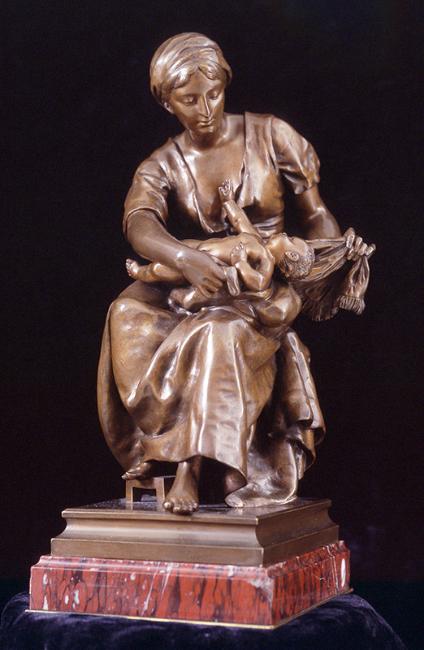 Pierre Louis Détrier   Mother and Child