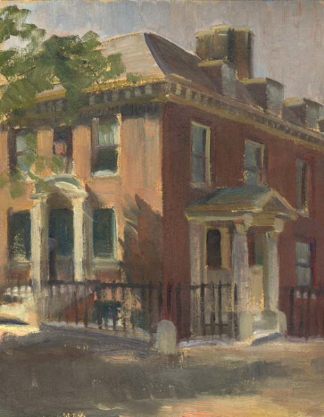 Walter Gay | Study of a Town House