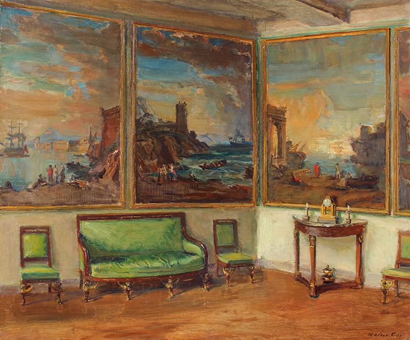 Panneaux Décoratifs   Oil on canvas 21¼ x 25½ inches (54 x 65 cm) $55,000 Click here for more information
