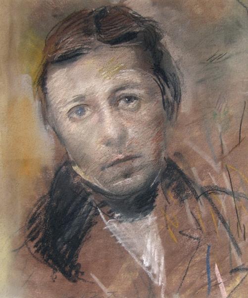 David Fertig   Portrait of the Painter J.A.D. Ingres