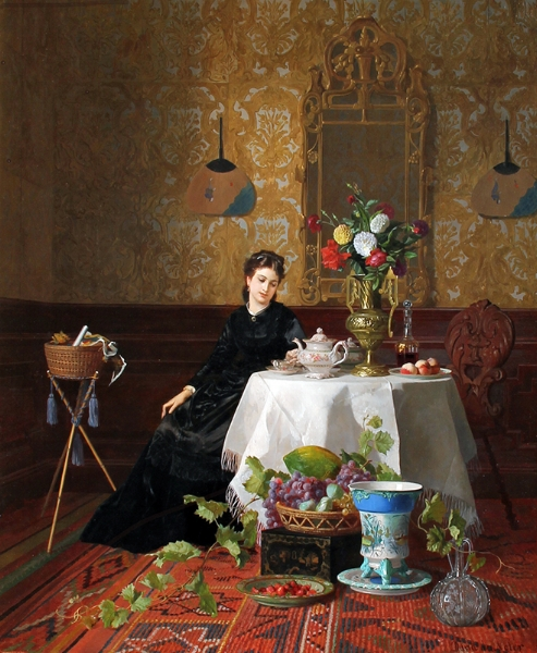 David de Noter | Taking Tea
