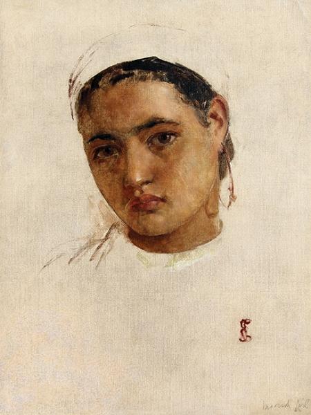 Edwin Long   Moorish Girl