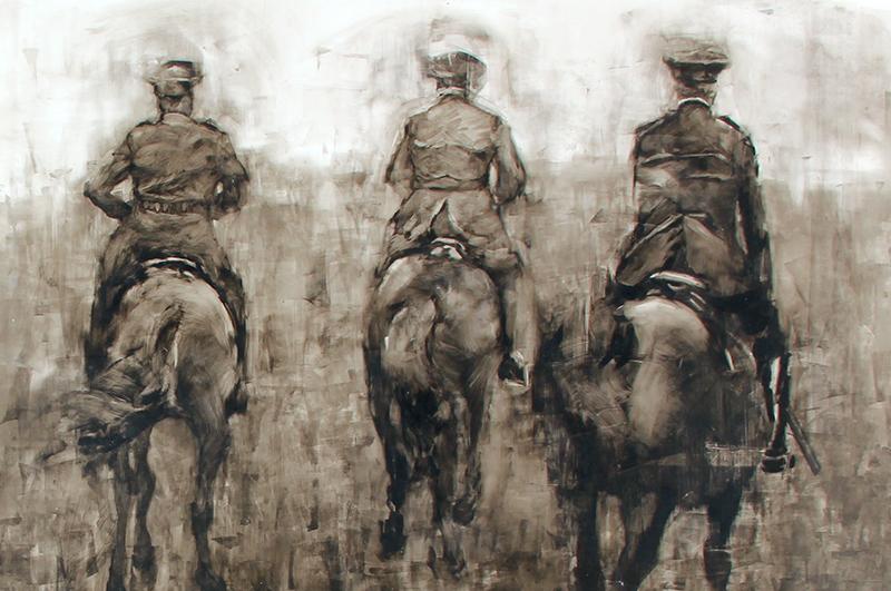Lance Hewison - Three Riders