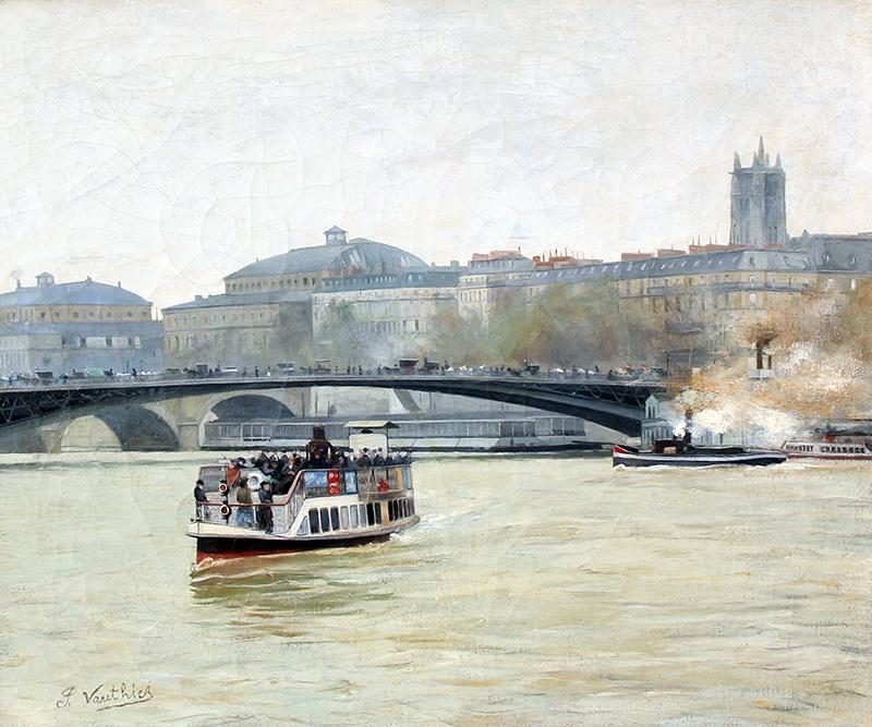 Bateau Mouche sur la Seine, Paris