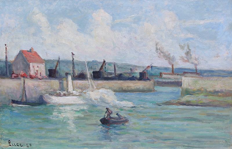 Maximillen Luce | Honfleur, l'Entrée du Port