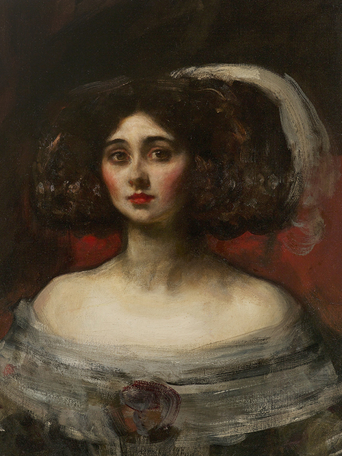 SIR JAMES JEBUSA SHANNON    Lady Marjorie Manners   Oil on canvas 26½ x 19½ inches (67.3 x 49.5 cm) $9,500 Click here for more information