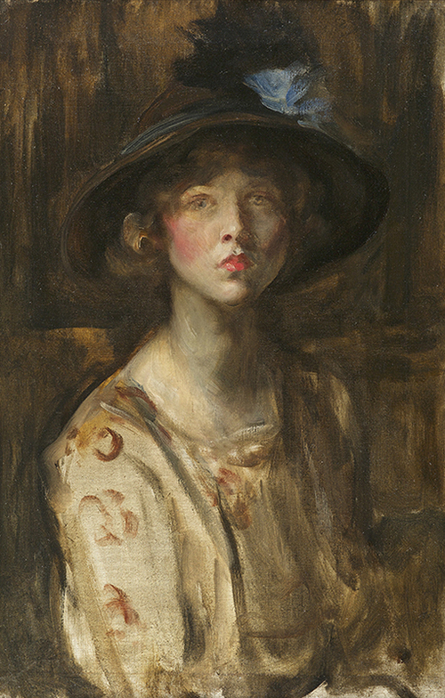 SIR JAMES JEBUSA SHANNON    Lady Diana Manners   Oil on canvas 30 x 22 inches (76.2 x 55.9 cm) $18,500 Click here for more information