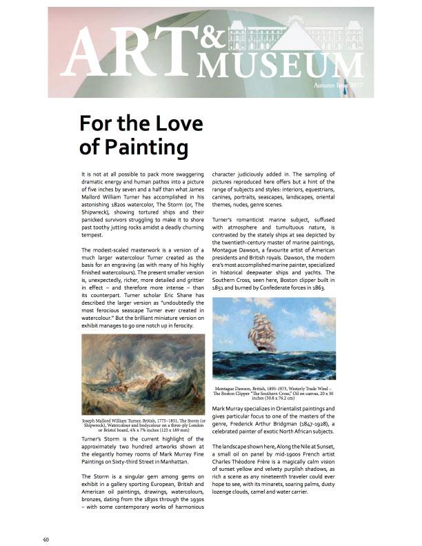 Art & Museum - Mark Murray