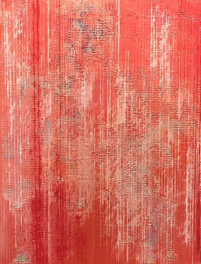 MARY CASH JOSKA  Flame   Acrylic on canvas 48 x 36 inches $8,500 Click here for more information