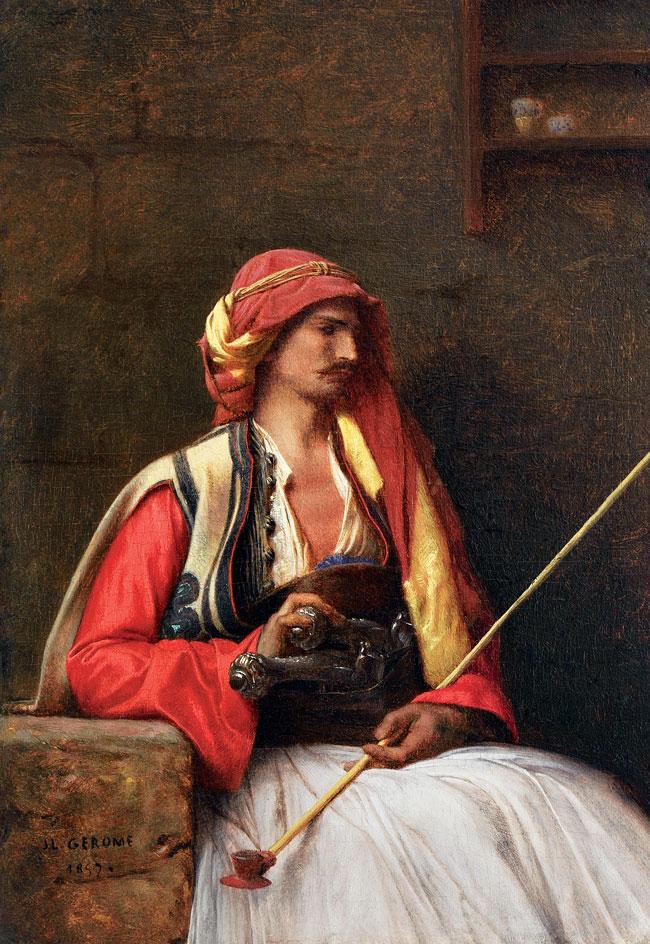 Jean-Léon Gérôme - Jeune Grec Painting