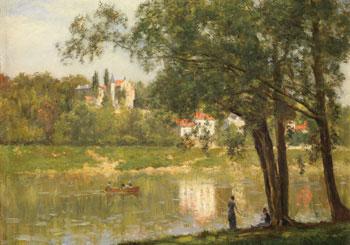 STANISLAS LÉPINE (1835–1892)  L'Île de la Grande Jatte