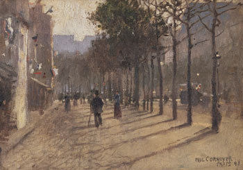 CORNOYER -  Paris  (1898) JOSLYN MUSEUM OF ART