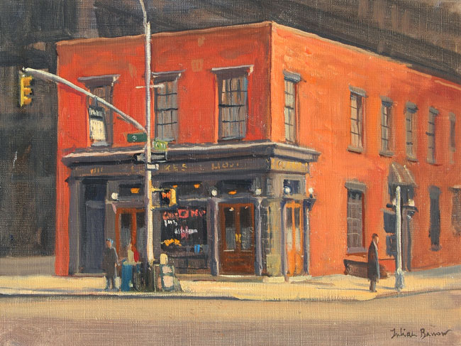 JULIAN BARROW  P.J. Clarke's, New York   Oil on canvas 9 x 12 inches (23 x 30.5 cm) $4,500 Click here for more information