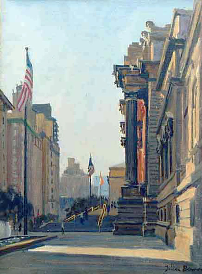 JULIAN BARROW  The Metropolitan Museum of Art, New York   Oil on canvas 12 x 9 inches (30.5 x 20.5 cm)  SOLD