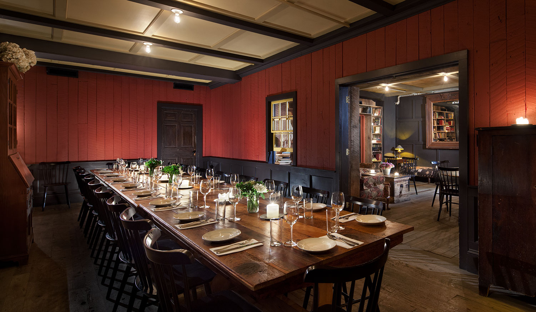 Private Dining Freemans Restaurant