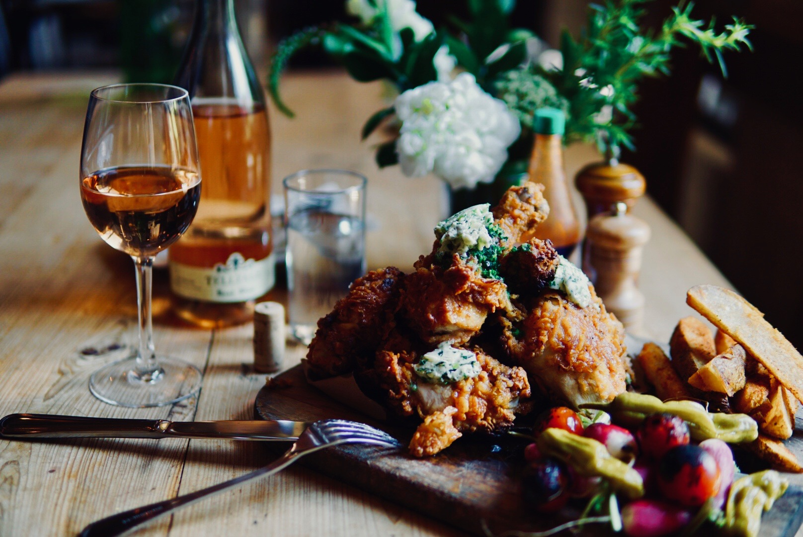 Fried Chicken for Two     Photo Download