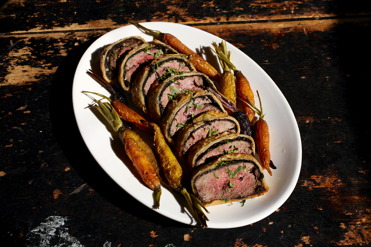 Private Party Menu - Beef Wellington      Photo Download