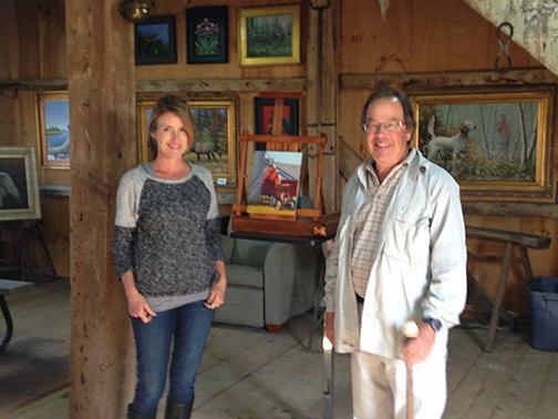 Jennifer with Kevin Macpherson